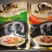 """Натуральный корм """"Шеба"""" для кошек. Полезные свойства, компоненты."""